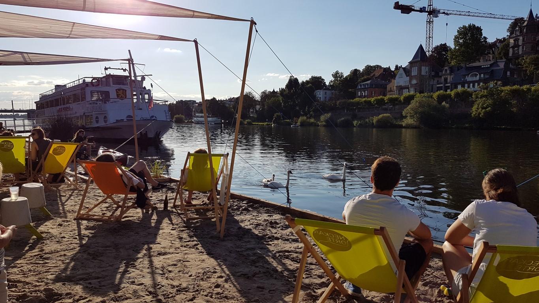 Heute Noch Mal: Afterwork Am Neckarstrand