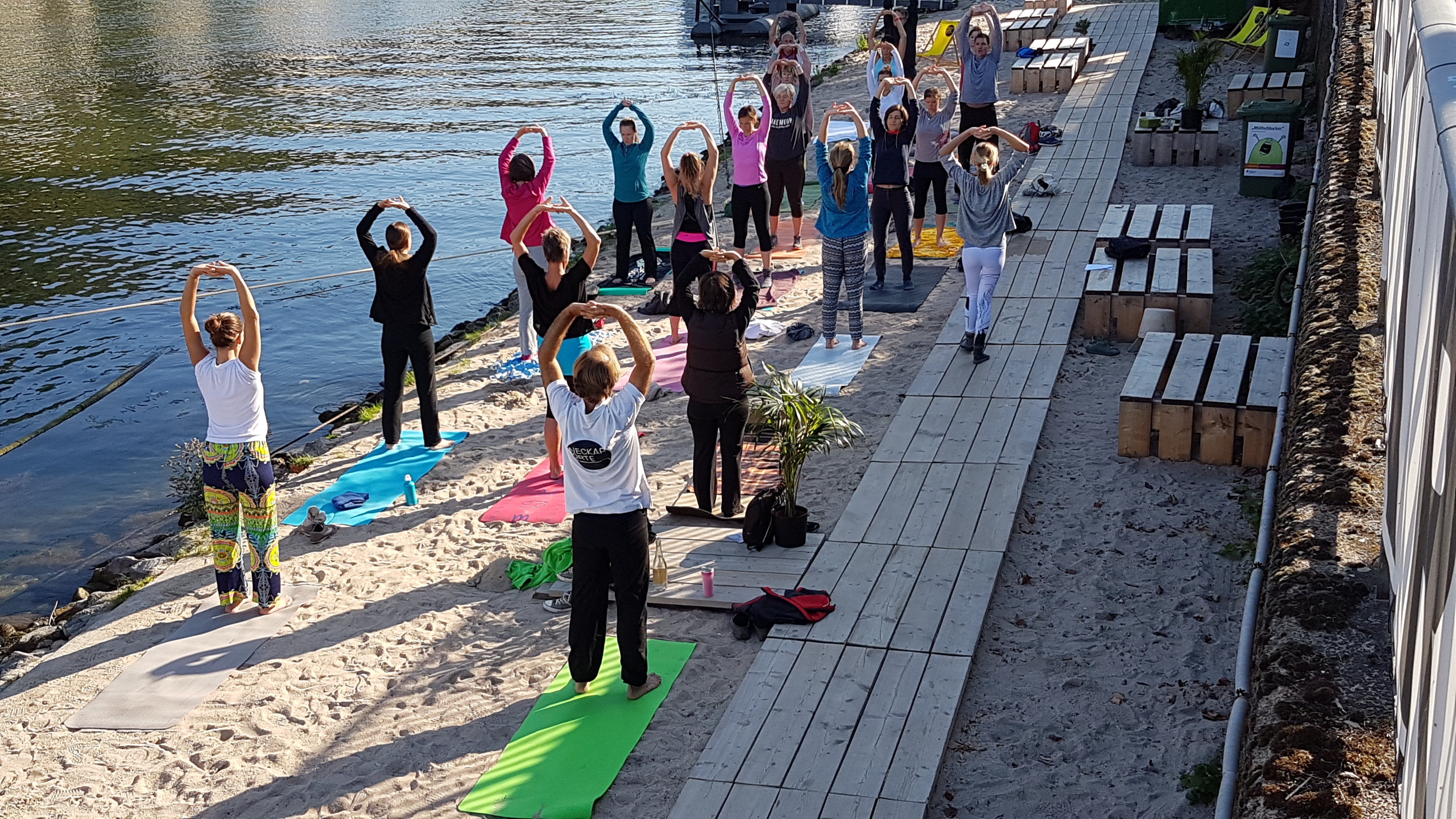 Yoga Für Die Übergänge